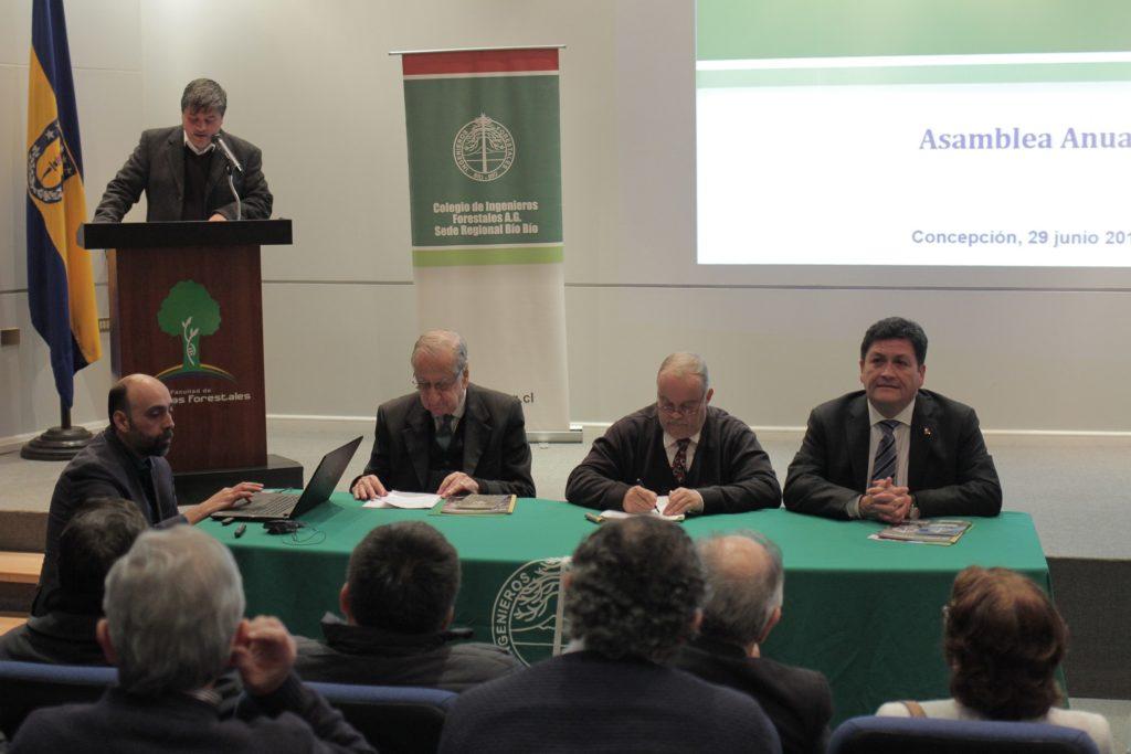 Asamblea Anual de Socios 2018 Colegio de Ingenieros Forestales