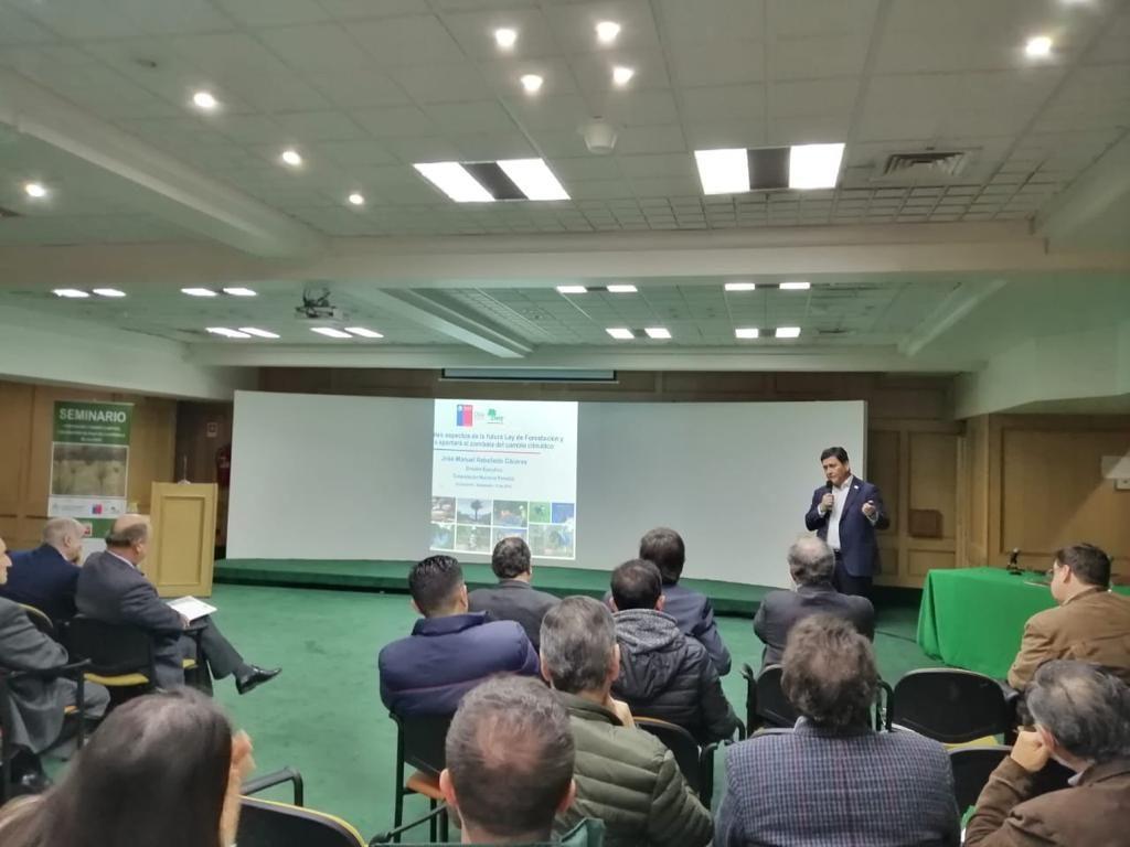 CIFAG reivindica el rol del sector forestal frente al cambio climático en seminario realizado en Concepción de Chile en la antesala de la COP25″